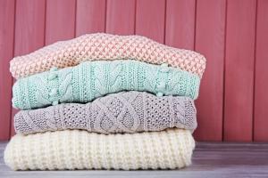 冬でも汗はかくもの…セーターは洗濯機で洗える?