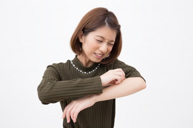 1.汗 蕁麻疹